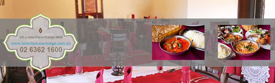 Dine out at the award winning Indian Restaurant and bar which is located on site